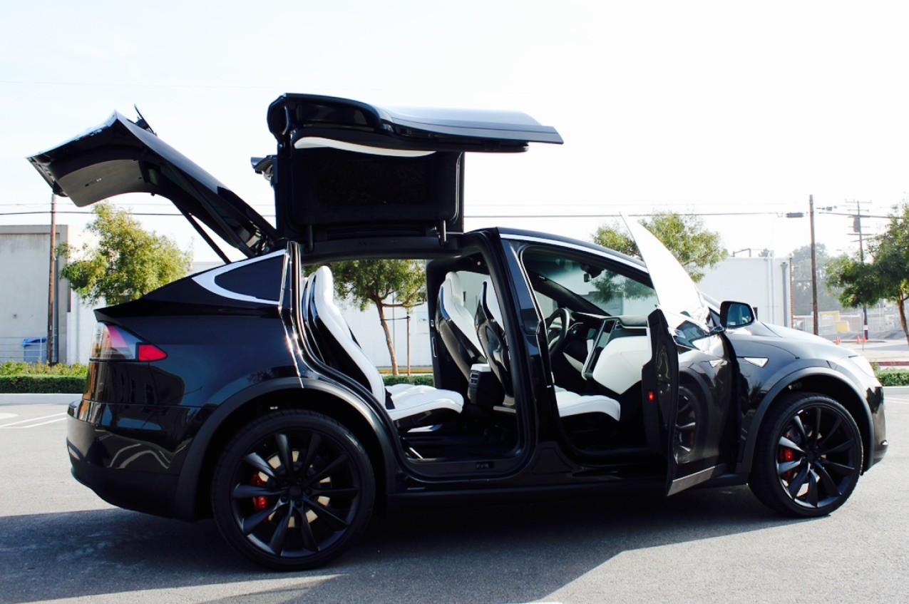 VIP Transportationwith a Tesla Model X